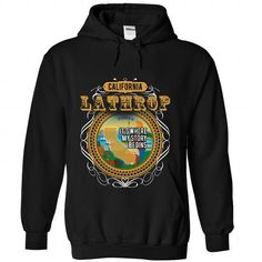 I Love LATHROP Its Where My Story Begins Shirts & Tees