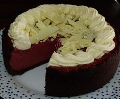 Recipe Red Velvet Cheesecake by thermosimsa - Recipe of category Baking - sweet