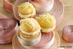 Schmelzende Zitronencreme-Kekse Vegan Pastries, Mini Pies, Vegan Sweets, Eat Smarter, Going Vegan, No Bake Cake, Hamburger, Bakery, Vegan Recipes