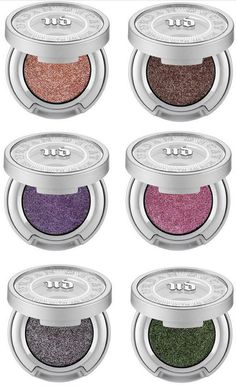 Moondust eye shadow shades by Urban Decay. Check out the NEW shades released for Spring 2015!