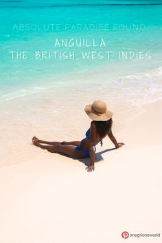 A guide to Anguilla, a Caribbean paradise! Things to do, where to eat, where to stay and the world's BEST BEACHES on any budget