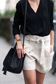 69 Best ideas for moda casual verano summer outfits chic Mode Outfits, Short Outfits, Fashion Outfits, Fashion Clothes, Dress Fashion, Fashion Ideas, Dress Clothes, Fashion Shoes, Dress Shoes