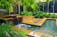 Exquisite small garden design by Fernhill Landscapes - http://landarchs.com/award-winning-small-garden-design/