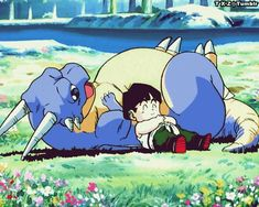 awww Gohan and Icarus