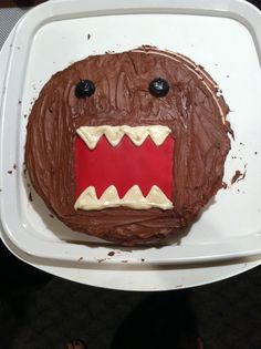 DOMO cake (made for my brother)