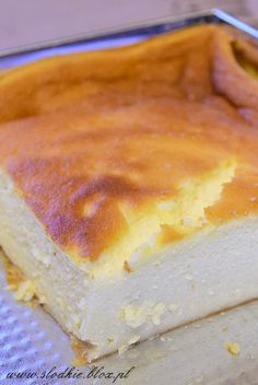 g) lub aromat waniliowy do smaku Sweet Desserts, Sweet Recipes, Delicious Desserts, Cake Recipes, Dessert Recipes, Yummy Food, Tiffin Recipe, Polish Desserts, Deli Food