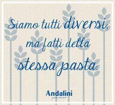 La diversità è una ricchezza! Buona domenica!  www.andalini.it