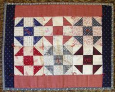 """Shoo Fly doll quilt 16 3/4"""" by 13 1/2"""" for $23.99 at the Cottage Gift Shop - Elmira, New York"""