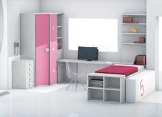 Zona de estudio: DORMITORIO JUVENIL 998-5#despacho #juvenil #estudio #estudiar #estudiantes #dormitorio #habitación