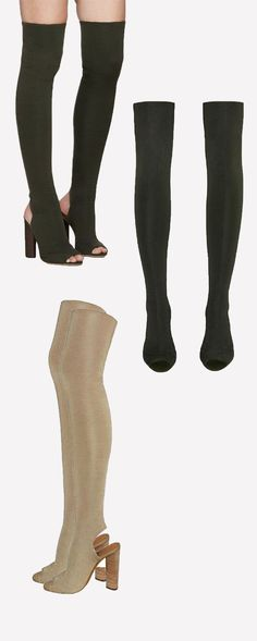 Boots are the essential style in fall. Peep Toe Stretch Heeled Over The Knee Boots make you a more fashionable fall. Welcome to chiclookcloset.com, find more styles.