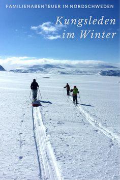 Im Winter den Kungsleden im Norden Schwedens zu wandern ist ein kleines Abenteuer für die ganze Familie.