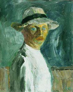 Emile Nolde, Self-Portrait, 1917