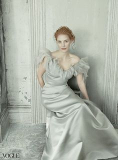 Jessica Chastain photographed by Annie Leibovitz