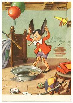 Cartolina CONCORSO PINOCCHIO Pubblicitarie ARRIGONI 1954_STATO DI NUOVO* (1)