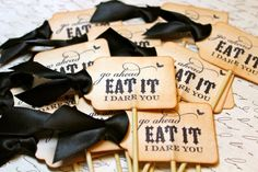 Halloween Wedding Cupcake Toppers1 Spooktacular Ideas for a Halloween ...