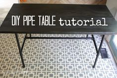 Hello lovely readers!  Many of you have complimented the DIY pipe table that we made for our new eat-in-kitchen area, so today we are sharing with you full details of how we made it.  First, let me show you our inspiration, which came from one of my favorite stores–West Elm.  I fell in love with …