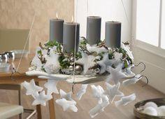1000 images about adventskranz adventsgesteck on. Black Bedroom Furniture Sets. Home Design Ideas