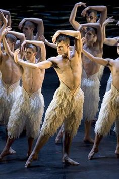 Matthew Bourne's Swan Lake at Capitol Theatre, Haymarket, Sydney. I remember watching this in college made me fall in love with male dancers all over again.
