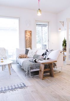 Naturally Beautiful Finnish Home Tour
