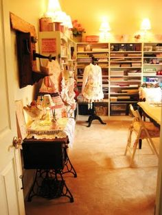 The Craft Room of Beehive Cottage