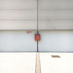 The red box #hangarbicocca #rsa_minimal #minimalism #igersmilano