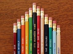 PICK A PENCIL 12 PACK!