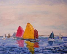 Sailing Nantucket Sound. via Etsy.