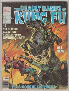 Deadly Hands of Kung Fu; Vol 1, 30, Bronze Age Comic Book. FN-. November 1976. Curtis Magazines (Marvel Comics) #deadlyhandsofkungfu #comicsforsale