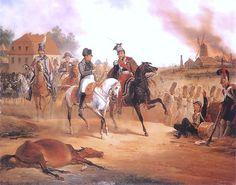 Napoleon i Poniatowski Lipsk