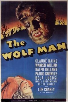 The Wolf Man (1941) George Wagner Original Movie Poster
