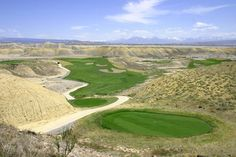 Devils Thumb Golf Course...This place might look like you are playing on the Moon, but it really is a great place to play golf.