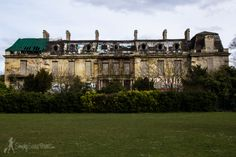 Did you know there is an abandoned Rothschild mansion in a park just outside Paris?