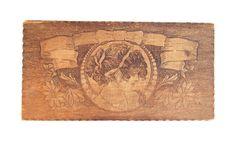 Victorian Glove Box Antique Ladies Wooden by AdobeHouseVintage