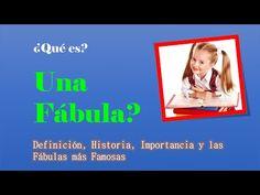 ¿Que es una Fabula? Definición - YouTube