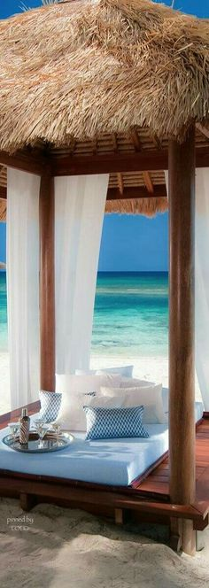 Cabana life is THE life // Sandals Royal Bahamian in Nassau, Bahamas. Les Bahamas, Nassau Bahamas, Bahamas Honeymoon, Vacation Destinations, Dream Vacations, Vacation Spots, The Places Youll Go, Places To Go, Royal Bahamian
