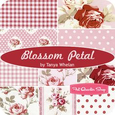 Blossom Petal Fat Quarter Bundle Tanya Whelan for Free Spirit Fabrics - Fat Quarter Shop