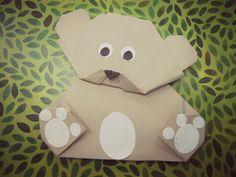 Miś origami - pomysły na Światowy Dzień Pluszowego Misia   O matko, święta!