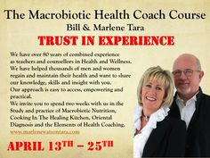 Trust in experience. Bill and Marlene have 80 years of teaching between them. Join us on our next coaching course and change your life and that of countless others. Health Coach, Health And Wellness, Insight, Coaching, Trust, Knowledge, Join, Change, Life