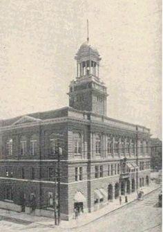 Nashville Tennessee Davidson County City Hall  Circa:  1900-1920