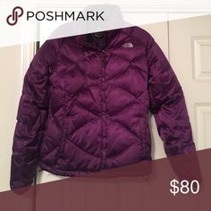 North Face women's winter jacket Purple North Face Winter women's coat. Will consider all offers. The North Face Jackets & Coats Puffers