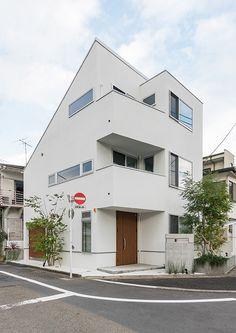 都市型コンパクト住宅   注文住宅なら建築設計事務所 フリーダムアーキテクツデザイン