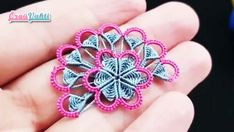 Tatting, Crochet Unique, Diy And Crafts, Videos, Beautiful, Flowers, Pattern, Jewelry, Fashion