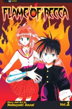 Flame of Recca Volume 1 Review: Pop Rocks  Chapters 1-9  The first chapter starts off with Recca going against his friend and ally Domon. Domon is a big mean and ugly looking dude who looks like he can snap Recca in half. But Domon loses because Recca uses ninja tricks to trap him in one of those old Team Rocket traps that traps you underground. Next Recca goes home and we see his father and learn that he wants to become a ninja. He even goes into his room and picks up a basic ninja sword…