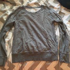 Gap sweatshirt/sweater Grey sweatshirt from gap 100% cotton but already pre-shrunk GAP Jackets & Coats