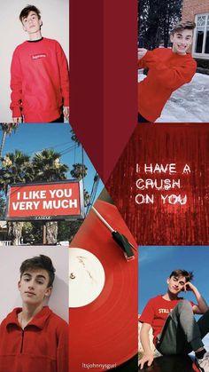 Luv him!!! Johnny Orlando, Annie And Hayden, William Franklyn Miller, Everything Is Blue, Instagram Frame, Mackenzie Ziegler, Youtube Stars, Tumblr Boys, Celebs