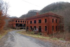 The Pocahontas Coal Company buildings are located in Jenkins Jones, West Virginia. The Pocahontas Coal Company buildings are located in Jenkins Jones, West Virginia. Abandoned Churches, Abandoned Mansions, Abandoned Places, Virginia Attractions, Haunted Attractions, Morgantown West Virginia, Beckley West Virginia, West Virginia Vacation, Monongahela National Forest