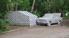 Een groep Russische kunstenaars schildert objecten weg uit het straatbeeld - Creators