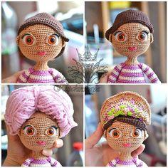 Mesmerizing Crochet an Amigurumi Rabbit Ideas. Lovely Crochet an Amigurumi Rabbit Ideas. Crochet Amigurumi Free Patterns, Crochet Bear, Love Crochet, Beautiful Crochet, Crochet Dolls, Crochet Gifts, Doll Eyes, Doll Face, Rabbit Crafts