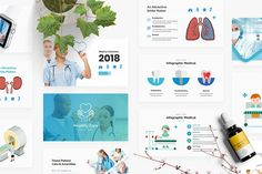 Medical and Healthy Care Solution Powerpoint Professional Powerpoint Templates, Powerpoint Template Free, Creative Powerpoint Templates, Keynote Template, Presentation Design Template, Design Templates, Envato Elements, Broken Images, Creative Visualization