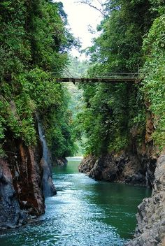 Canyon of Rio Pacuare in Cordillera de Talamanca, Costa Rica (by manalahmadkhan)....